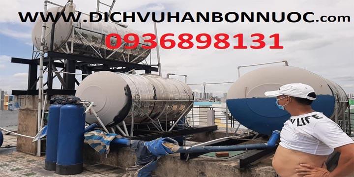 dịch vụ hàn sửa bồn nước inox tại nhà 0936898131