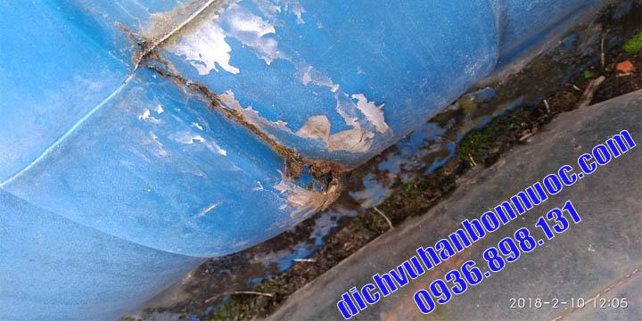 hàn bồn nước nhựa tại nhà uy tín nhất