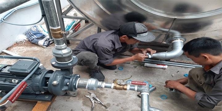 hàn bồn nước inox tại tphcm